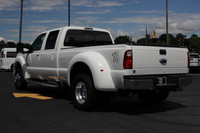 2013 Ford Super Duty F-450 Pickup Lariat - 4X4 - Prep Package - Dualie - One Owner Mooresville , NC 6