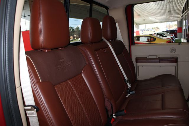 2013 Ford Super Duty F-450 Pickup King Ranch Crew Cab 4x4 FX4 - NAV! Mooresville , NC 35
