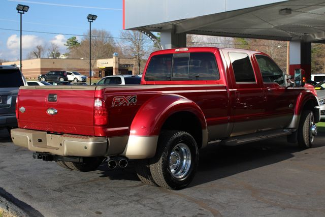 2013 Ford Super Duty F-450 Pickup King Ranch Crew Cab 4x4 FX4 - NAV! Mooresville , NC 24