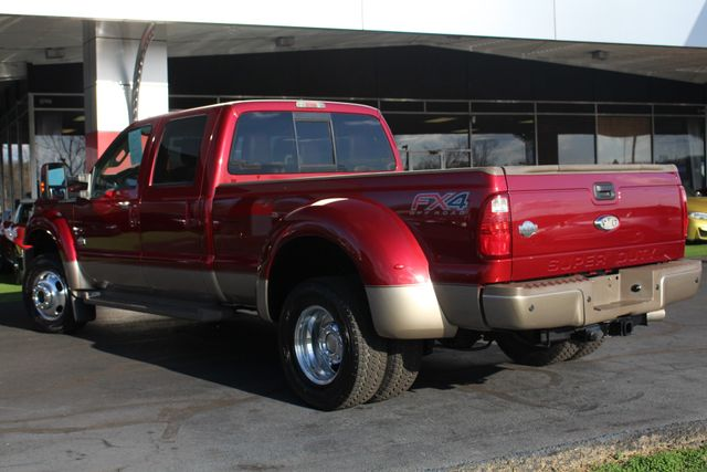2013 Ford Super Duty F-450 Pickup King Ranch Crew Cab 4x4 FX4 - NAV! Mooresville , NC 25