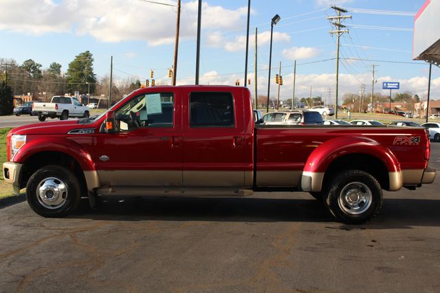 2013 Ford Super Duty F-450 Pickup King Ranch Crew Cab 4x4 FX4 - NAV! Mooresville , NC 15