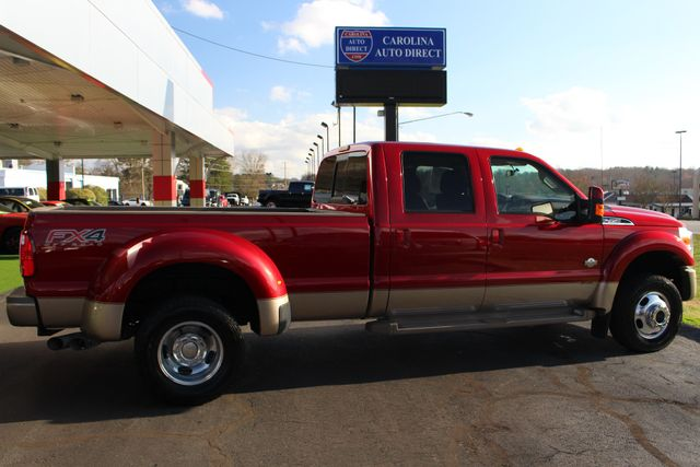 2013 Ford Super Duty F-450 Pickup King Ranch Crew Cab 4x4 FX4 - NAV! Mooresville , NC 14