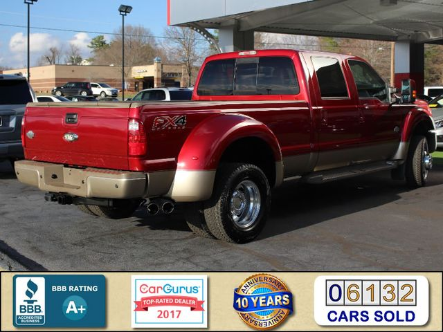 2013 Ford Super Duty F-450 Pickup King Ranch Crew Cab 4x4 FX4 - NAV! Mooresville , NC 2