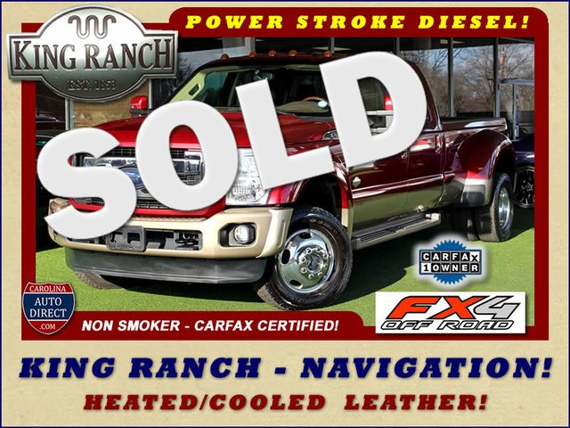 2013 Ford Super Duty F-450 Pickup King Ranch Crew Cab 4x4 FX4 - NAV! Mooresville , NC 0