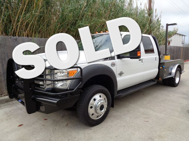 2013 Ford Super Duty F-550 DRW Chassis Cab Lariat Corpus Christi, Texas 0