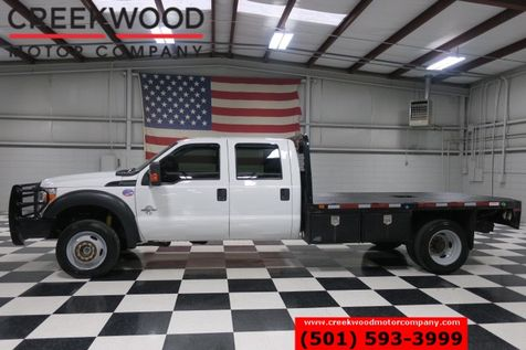 2013 Ford Super Duty F-550 XL XLT 4x4 Diesel Dually Utility Service Flatbed in Searcy, AR