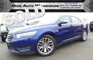 2013 Ford Taurus Limited V6 Sunroof Clean Carfax We Finance | Canton, Ohio | Ohio Auto Warehouse LLC in  Ohio
