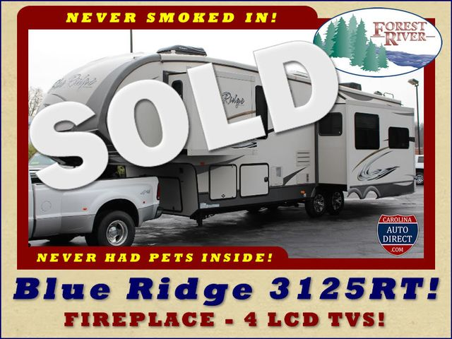 2013 Forest River Blue Ridge 3125RT - FIREPLACE - 4 LCD TVS! Mooresville , NC 0