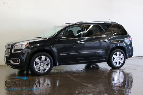 2013 GMC Acadia Denali AWD 7-Passenger Luxury SUV w/Navigation, BOSE Audio and Heated / Cooled Seats in Eau Claire