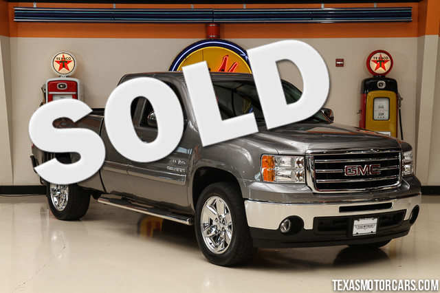 2013 GMC Sierra 1500 SLE This Carfax 1-Owner 2013 GMC Sierra 1500 SLE is in great shape with only