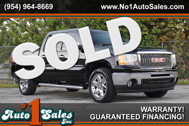 2013 GMC Sierra 1500 SLE  FACTORY WARRANTY CARFAX CERTIFIED 15 SERVICE RECORDS FLORIDA VEHIC