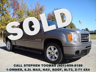 2013 GMC Sierra 1500 6.2L MAX, NAV, ROOF, 20's, NEW TIRES, 1-OWNER in  Tennessee