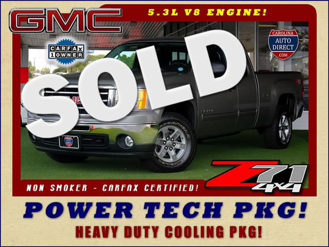 2013 GMC Sierra 1500 SLE EXT CAB 4X4 Z71 - POWER TECH PKG! Mooresville , NC 0