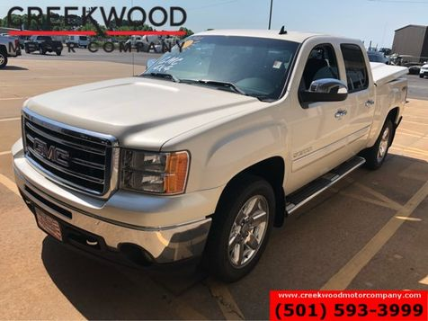 2013 GMC Sierra 1500 SLT 4x4 White Crew Leather Chrome 20s 1 Owner NICE in Searcy, AR