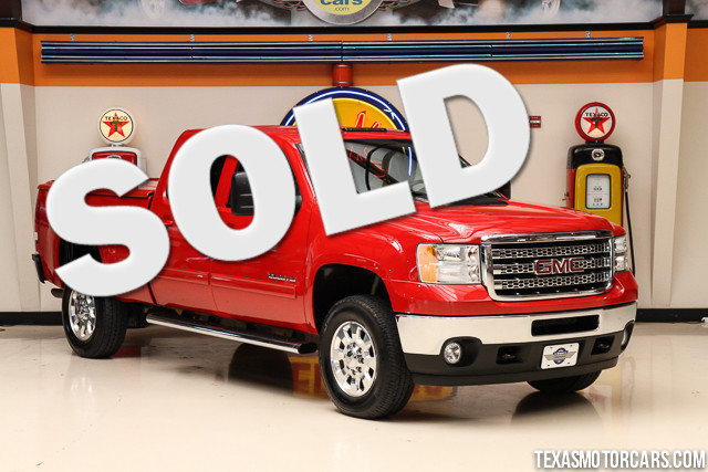 2013 GMC Sierra 2500HD SLT This Carfax 1-Owner accident-free 2013 GMC Sierra 2500HD SLT is in gre