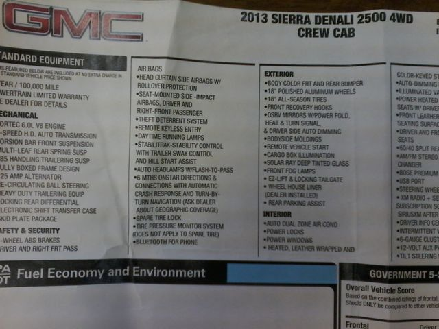 2013 GMC Sierra 2500HD Denali Z71Pkg San Antonio, Texas 35