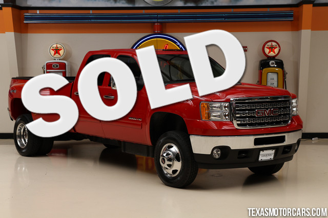 2013 GMC Sierra 3500HD SLT This 2013 GMC Sierra 3500HD is in great shape with only 59 395 miles