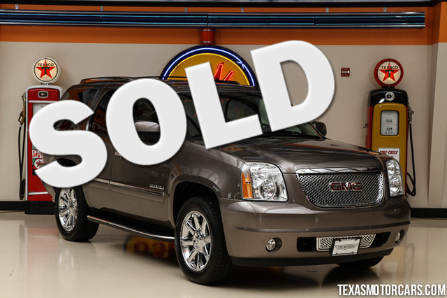 2013 GMC Yukon Denali This Carfax 1-Owner 2013 GMC Yukon Denali is in great shape with only 77 54