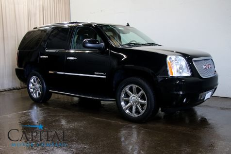 2013 GMC Yukon Denali AWD w/3rd Row Seats, Navigation, DVD System, Heated/Cooled Seats & 20-Inch Rims in Eau Claire