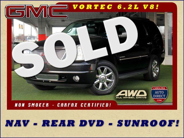 2013 GMC Yukon Denali AWD - NAVIGATION - REAR DVD - SUNROOF! Mooresville , NC 0