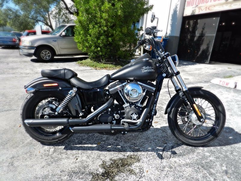 2013 Harley-Davidson Dyna Street Bob FXDB LIKE NEW EXTRAS  city Florida  MC Cycles  in Hollywood, Florida