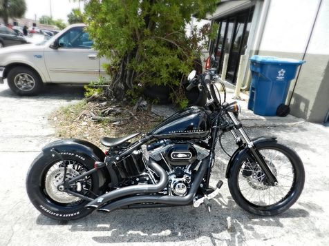 2013 Harley-Davidson Softail Blackline Custom Bobber Style A BEAUTY! TONS OF EXTRAS! in Hollywood, Florida