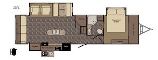 2013 Hill Country By Crossroads Rv  HCT 33RL Katy, Texas 28