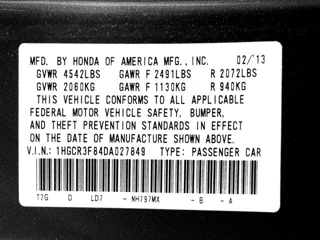 2013 Honda Accord EX-L Burbank, CA 37