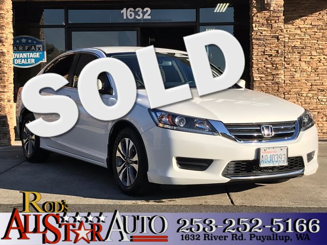 2013 Honda Accord LX This vehicle is a CarFax certified one-owner used car Pre-owned vehicles can