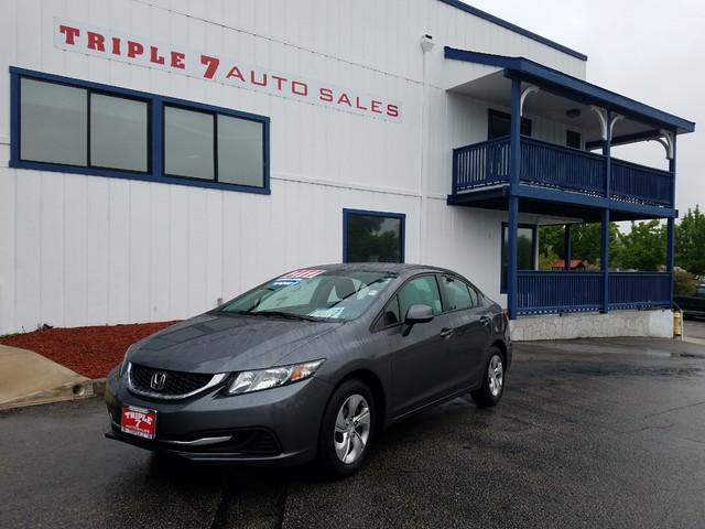 2013 Honda Civic LX  VIN 19XFB2F5XDE292854 34k miles  AMFM CD Player Anti-Theft AC Cruise