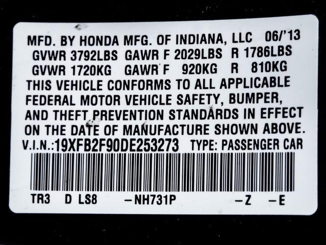 2013 Honda Civic EX-L Burbank, CA 9