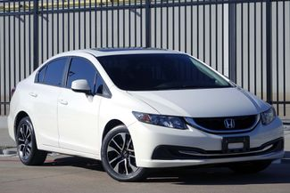 2013 Honda Civic EX* BU Camera* Sunroof* NAV* Bluetooth* EZ Finance**   Plano, TX   Carrick's Autos in Plano TX