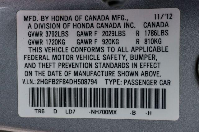 2013 Honda Civic EX - AUTO - 61K MILES - SUNROOF Reseda, CA 38