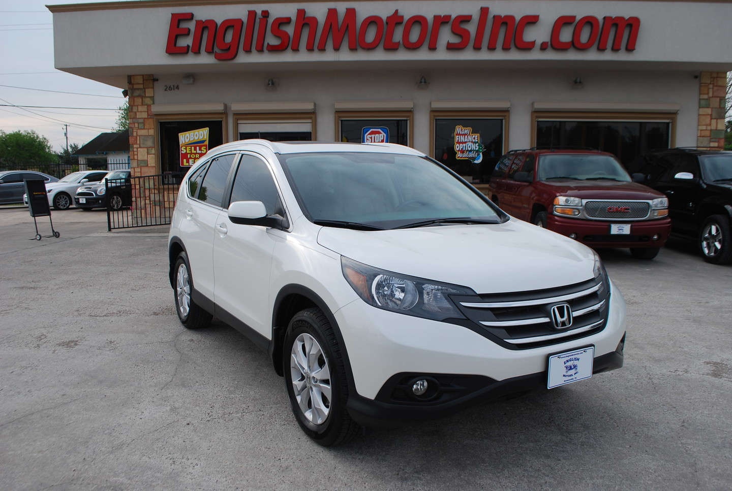 2013 honda cr v ex l brownsville tx english motors English motors inc