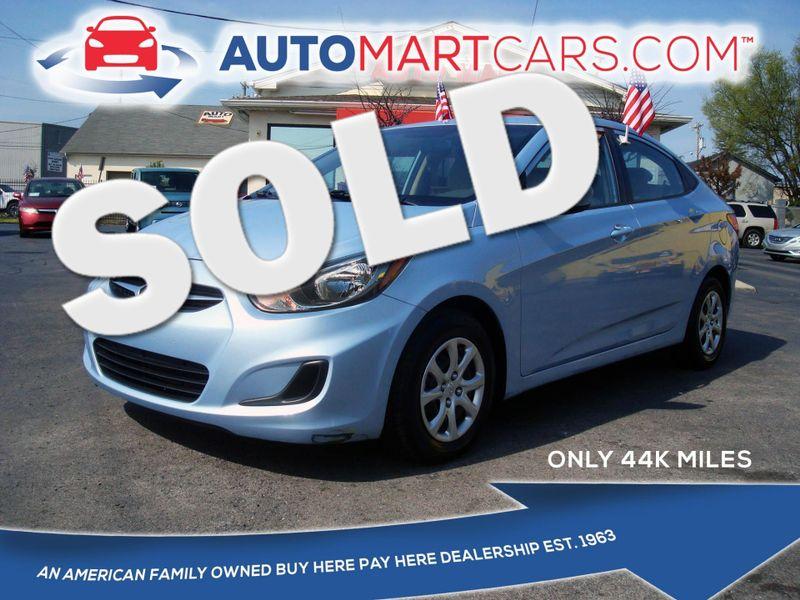 2013 Hyundai Accent GLS   Nashville, Tennessee   Auto Mart Used Cars Inc. in Nashville Tennessee