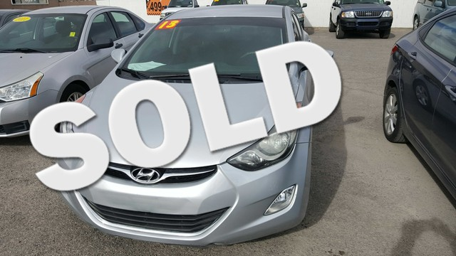 Used Cars in Las Vegas 2013 Hyundai Elantra