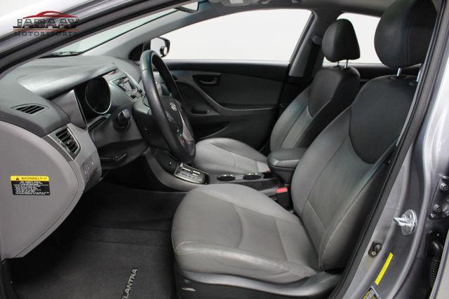 2013 Hyundai Elantra Limited Merrillville, Indiana 10
