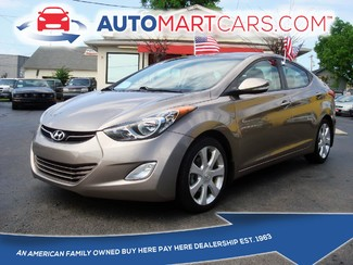 2013 Hyundai Elantra Limited | Nashville, Tennessee | Auto Mart Used Cars Inc. in Nashville Tennessee