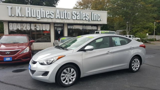 2013 Hyundai Elantra GLS Richmond, Virginia 24