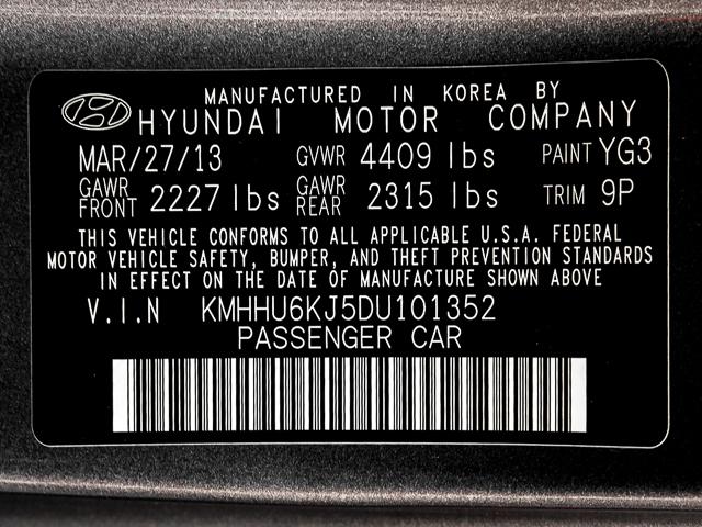 2013 Hyundai Genesis Coupe 3.8 Grand Touring Burbank, CA 11