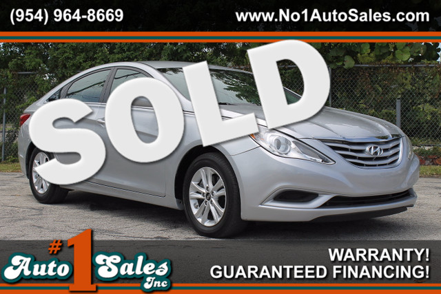 2013 Hyundai Sonata GLS  WARRANTY CARFAX CERTIFIED AUTOCHECK CERTIFIED 2 OWNERS FLORIDA VEH