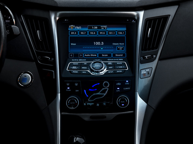 2013 Hyundai Sonata Hybrid Limited w/Panoramic Sunroof Pkg Burbank, CA 25