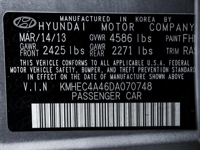2013 Hyundai Sonata Hybrid LIMITED Burbank, CA 9