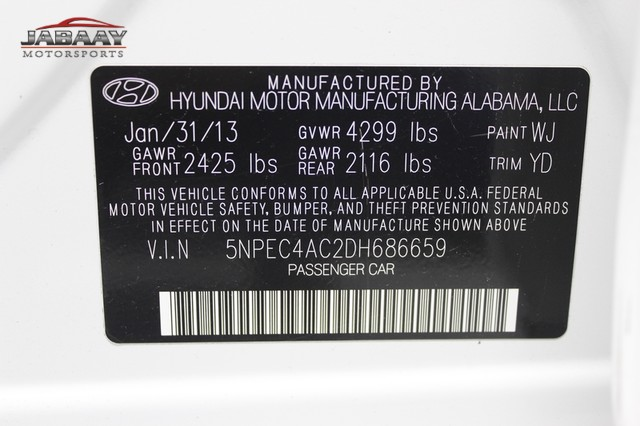 2013 Hyundai Sonata Limited Merrillville, Indiana 46