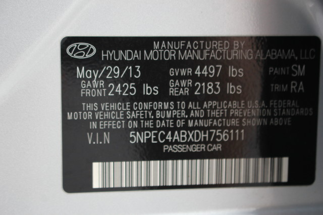 2013 Hyundai Sonata SE Mooresville , NC 12