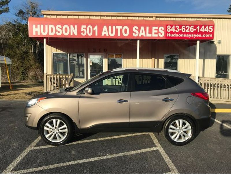 2013 Hyundai Tucson Limited | Myrtle Beach, South Carolina | Hudson Auto Sales in Myrtle Beach South Carolina