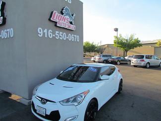 2013 Hyundai Veloster w/Black Int Sacramento, CA 3