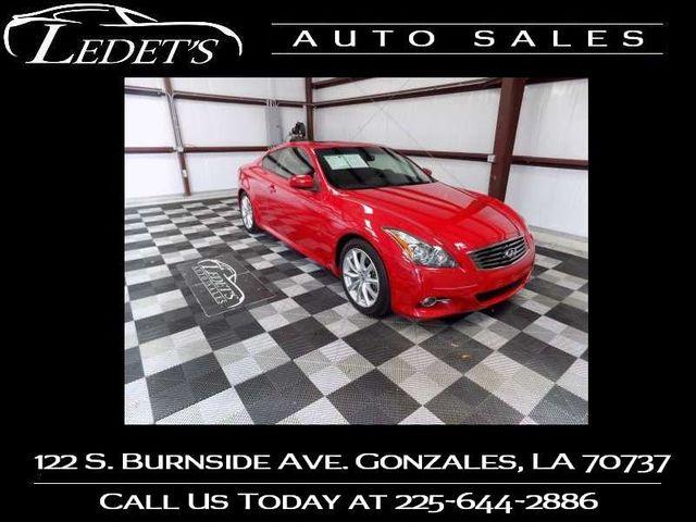 2013 Infiniti G37 Coupe Journey - Ledet's Auto Sales Gonzales_state_zip |  Gonzales Louisiana 70737