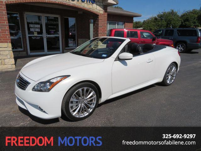 2013 Infiniti G37 Convertible Sport 6MT | Abilene, Texas | Freedom Motors  in Abilene Texas