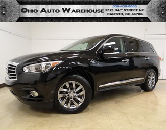 2013 Infiniti JX35 AWD Navi Tv/DVD Sunroof 1-Owner We Finance in  Ohio